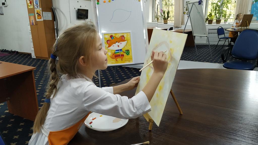 мастер-класс по художественной живописи